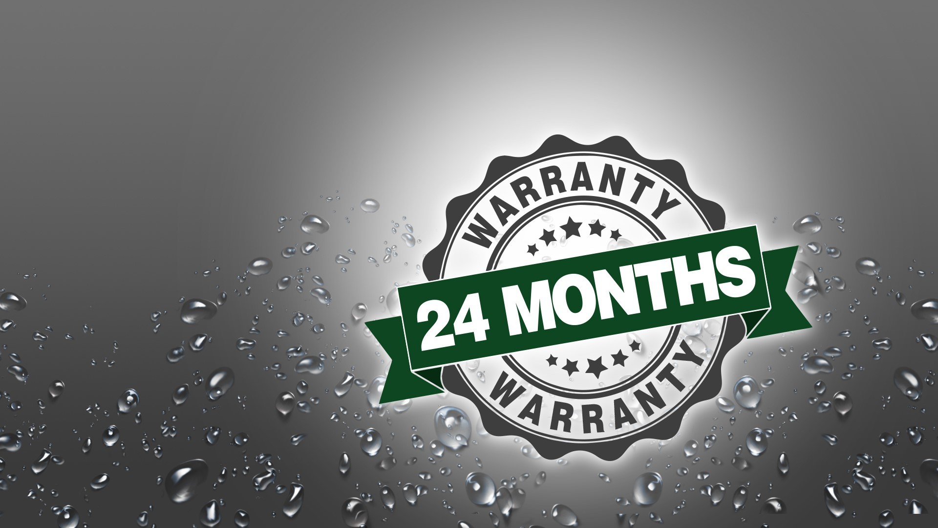 24-month warranty for submersible motors and borehole pumps