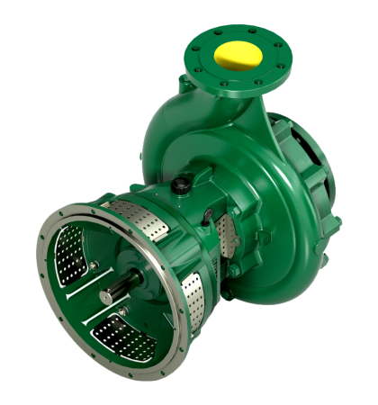 single-stage flanged pumps for diesel engines