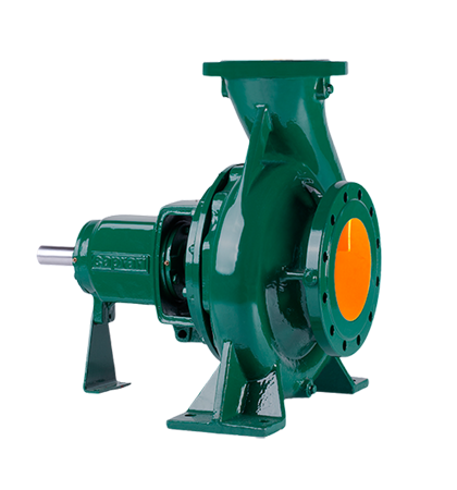 Standardized horizontal single stage centrifugal pumps